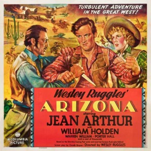 """poster for 1940 western """"arizona"""""""