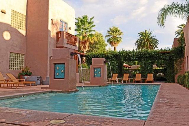 Lodge on the Desert Pool Area