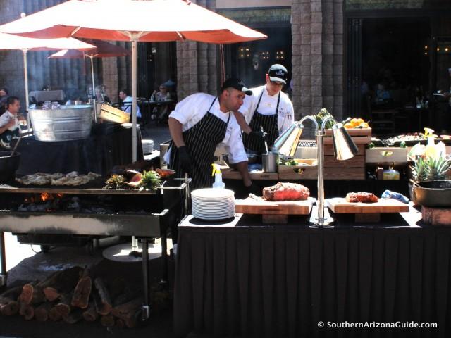 BBQ at Loews Ventana Canyon Resort