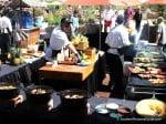 The BBQ grills at Loews Ventana Canyon Resort
