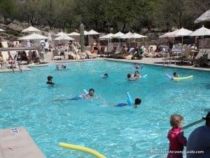 Swimming pool at Loews Ventana Canyon Resort