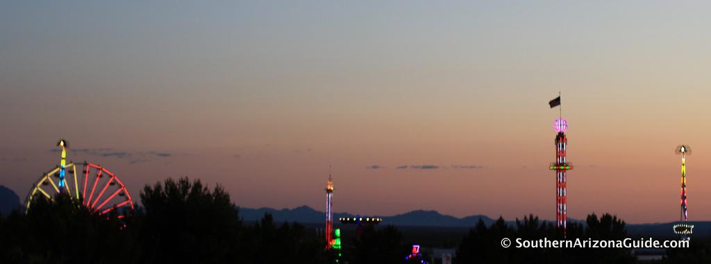 Pima County Fair at Twilight