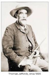 Tom Jeffords. Photo taken in 1885.