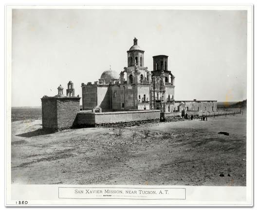 Mission San Xavier ca 1880