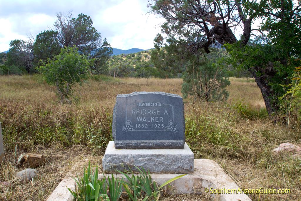 9 Geo Walker Grave Southernarizonaguide Com