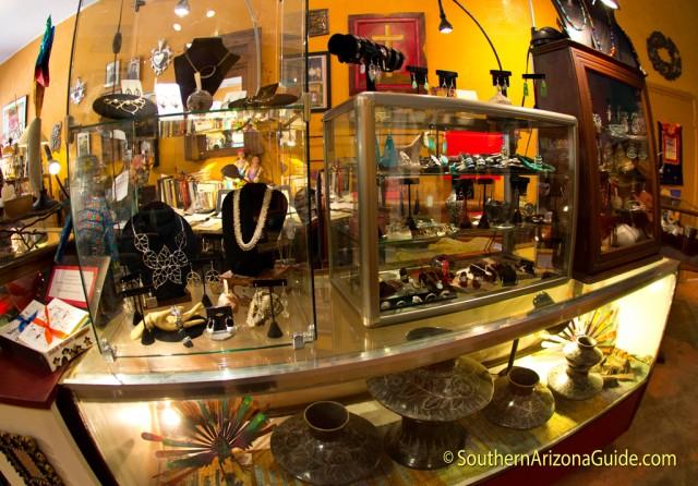 Global Arts Gallery & Lillian's Closet. Patagonia, AZ.