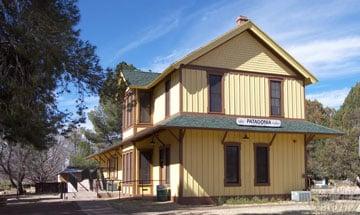 Patagonia AZ Train Depot