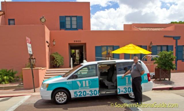 VIP Taxi at Arizona Inn