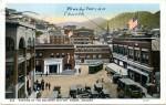 Color postcard of Bisbee ca. 1915