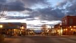 Allen Street Tombstone Arizona At Night