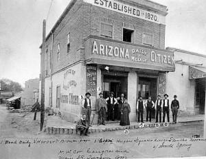 Arizona Citizen Newspaper