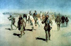Coronado Expedition by Frederic Remington.