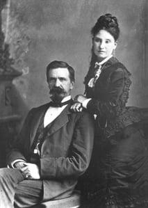Hiram & Petra Stevens