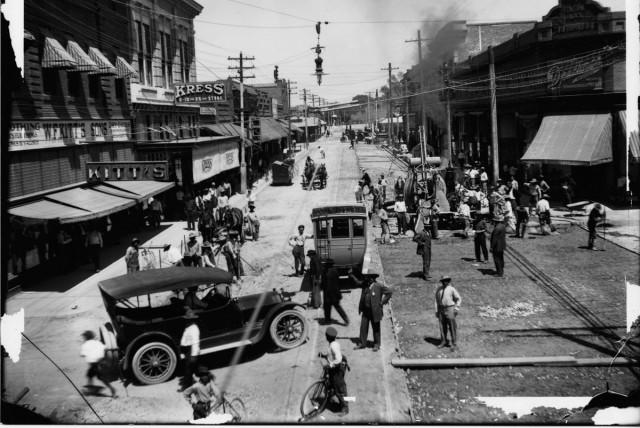 Paving Congress Street