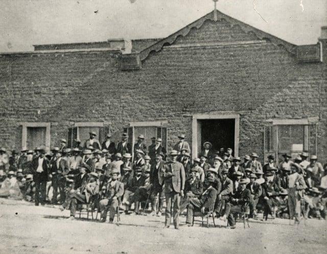 Defendants accused in the Camp Grant Massacre.