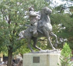 Poncho Villa Statue