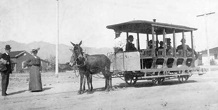 Tucson Streetcar: 1903.