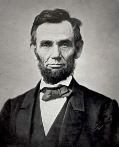 President Abraham Lincoln 1863.