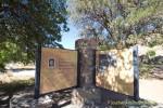 Interpretive sign at Gordon Hirabayashi Recreation Site