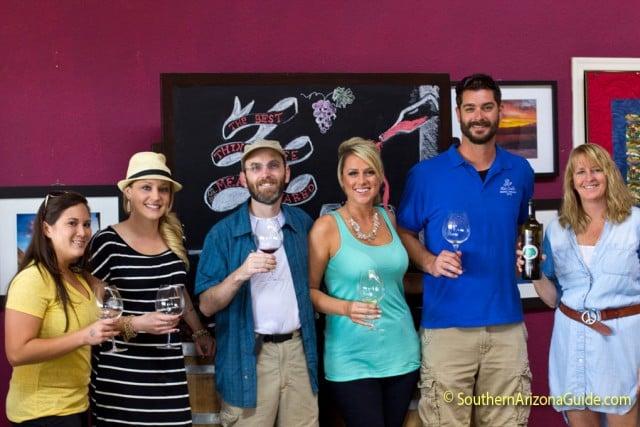 Group at Callaghan Vineyards