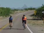 Biking on Arivaca Road