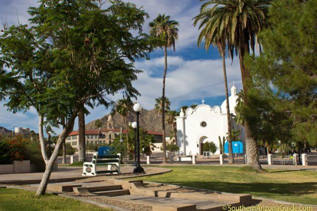 Central Plaza in Ajo, AZ