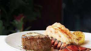 Fleming's Steak & Lobster Dinner