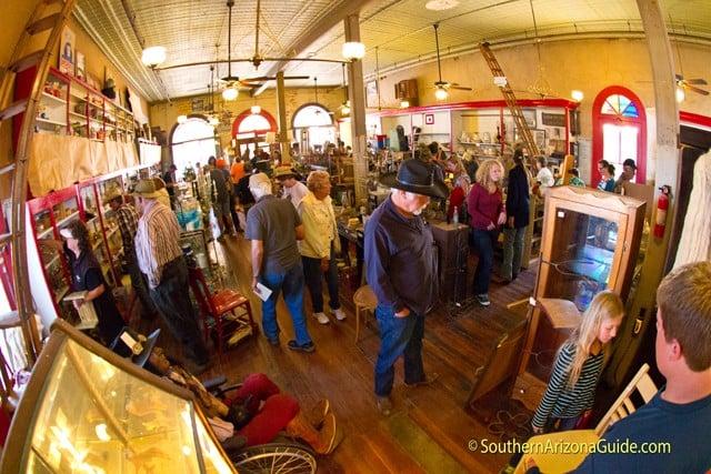 Pearce Mercantile during estate sale Thanksgiving weekend 2014.