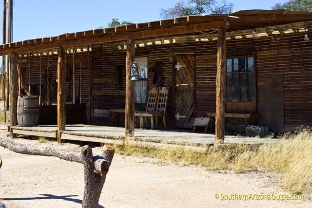 Original building from movie set of 3:10 To Yuma.