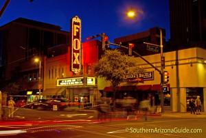 Fox Theater Tucson Neon Sign