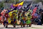 Flag Bearers dancing