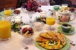 Gourmet Breakfast At Desert Dove B&B
