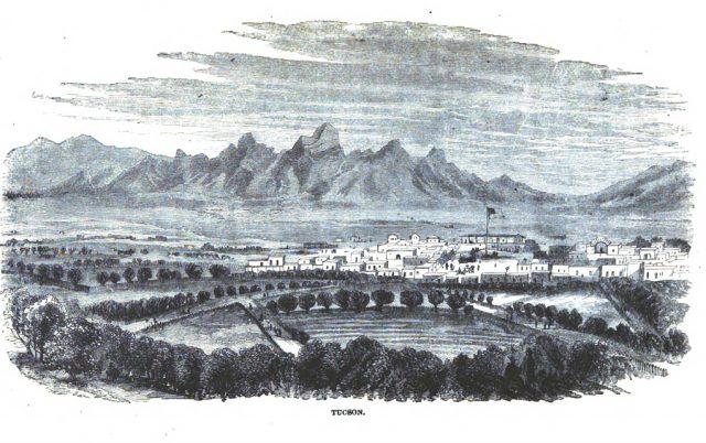 Tucson Arizona Territory ca. 1864.