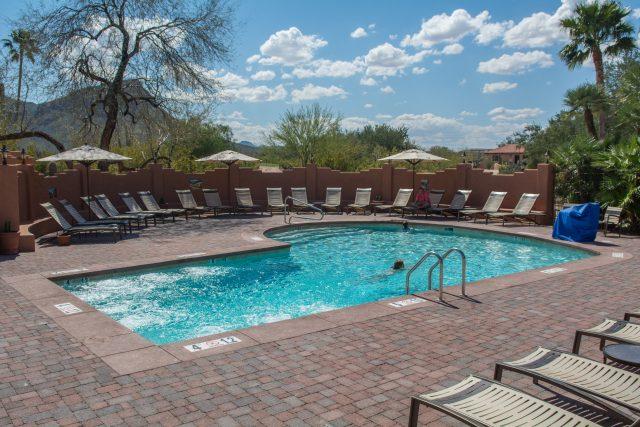 Pool Area at White Stallion Ranch