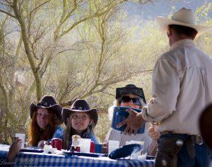 Kids at White Stallion Guest Ranch