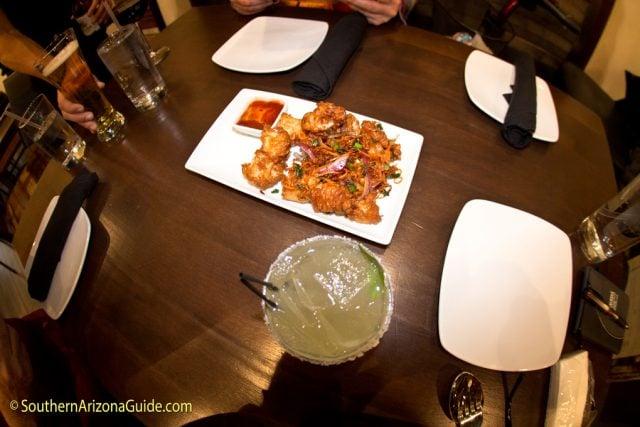 Calamari Appetizer at Senae Thai Bistro.