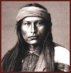 Naiche, last of the hereditary Chiricahua Apache chiefs.