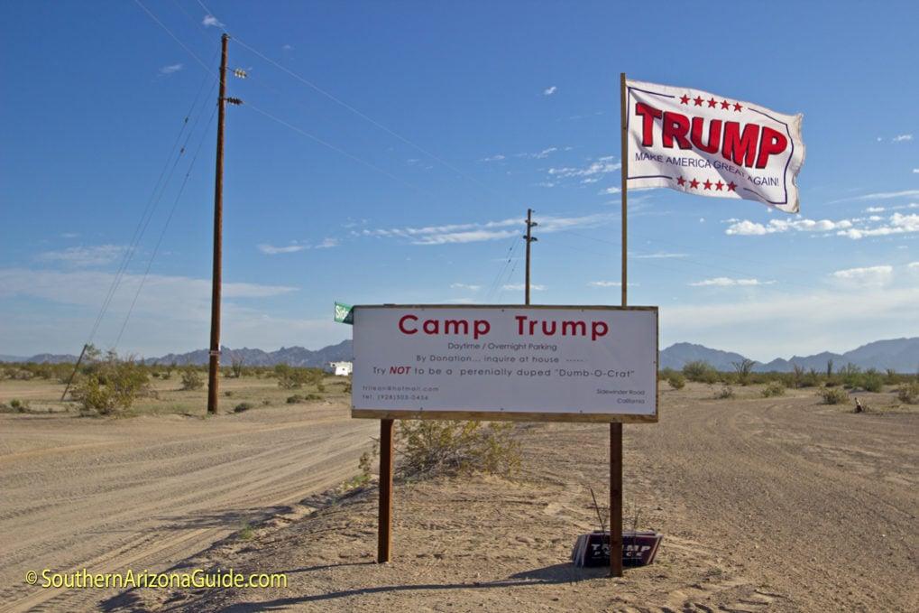 Yuma Camp Trump And A Trainload Of Tanks