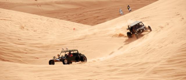 Dune Buggies across Imperial Sand Dunes