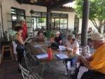 Tucson History & Libation Walking Tour begins in the courtyard of the Mercado San Agustin