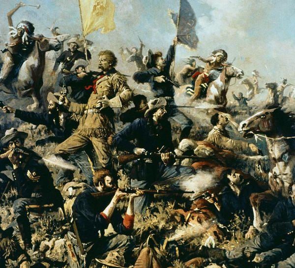 Battle of the Little Big Horn by Edgar Paxson.