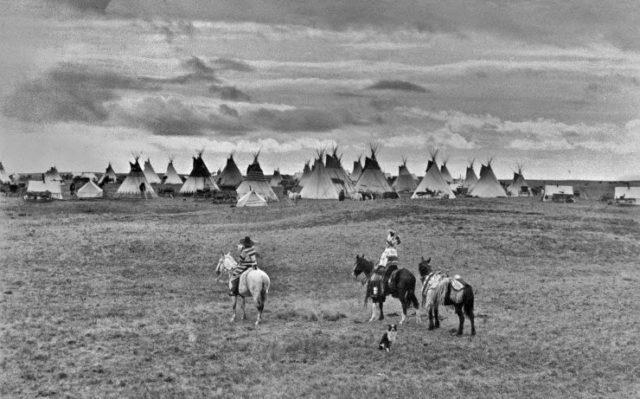 Blackfoot Village