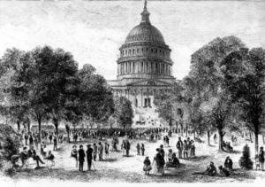 U.S. Capitol 1870