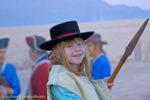 Girl with lance at Tucson Presidio