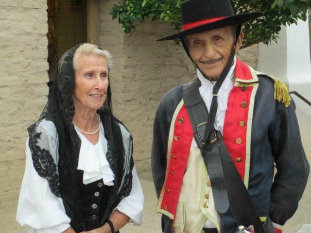 Mickie & Hector Soza celebrate life at El Presidio del Tucson in the late 18th century.