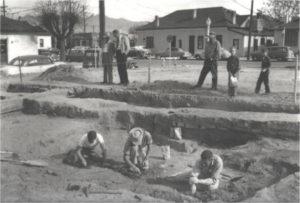 Tucson Presidio archeological dig