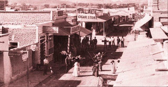 Congress Street, Tucson AZ ca. 1880's.