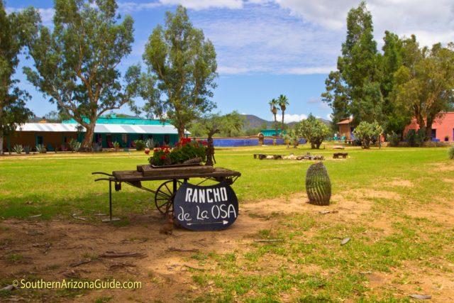 Rancho de la Osa entrance