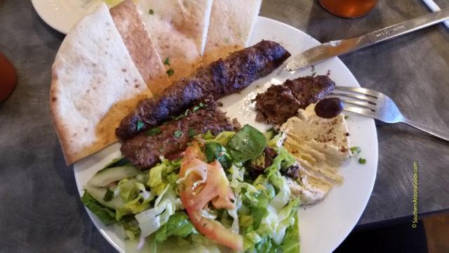 Za'atar Beef Kabob