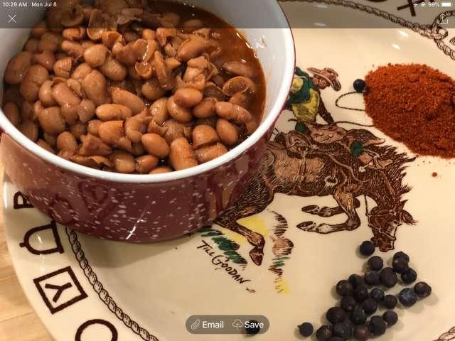 Ranch Beans